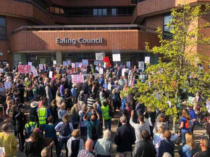 Ealing Protests LTN