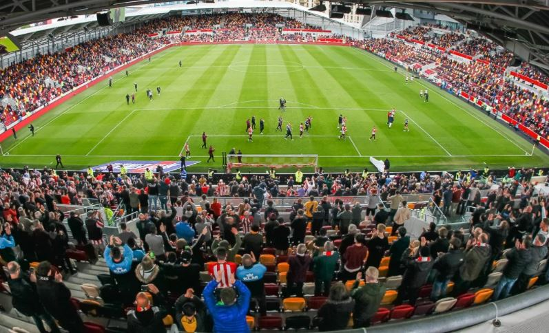 Brentford FC win against Bournemuth 22 May 2