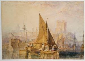 The Medway c.1824 JMW Turner, Photo ©Tate