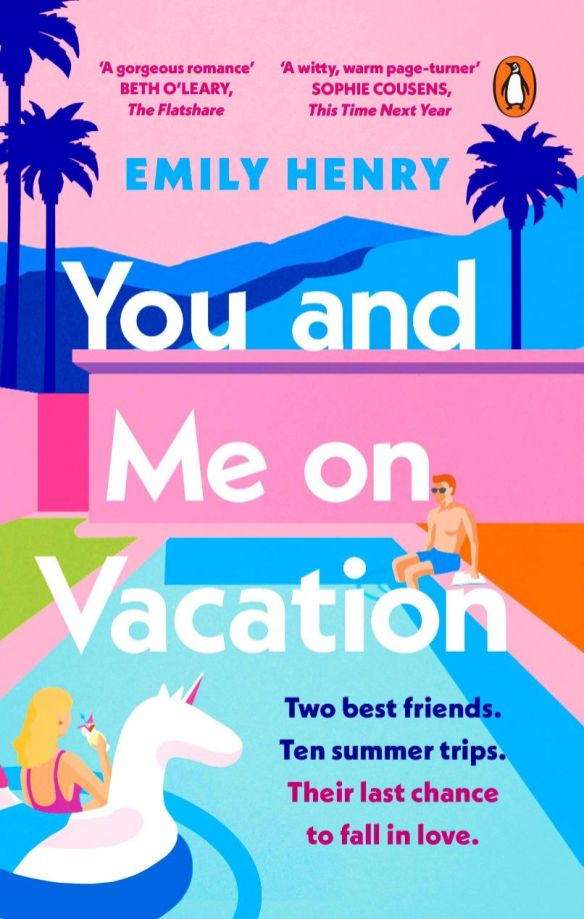 You and Me on Vacation Book