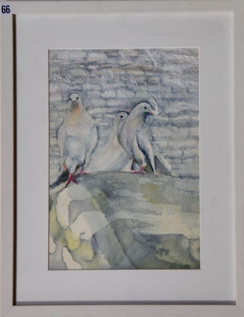 Binky Sellers, 3 Doves - UID66