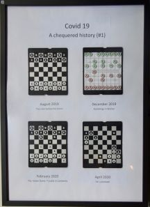 Gillian Harding, COVID 19 A Chequered History #1 - UID34