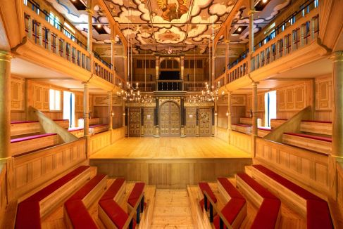 Sam Wanamaker Playhouse_If used please credit ©Peter Dazeley from his book London Theatres
