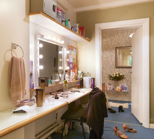 Stars dressing room Prince Edward TheatreIf used please credit ©Peter Dazeley from his book London Theatres
