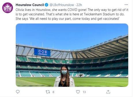 Twickenham Covid vaccinations 4