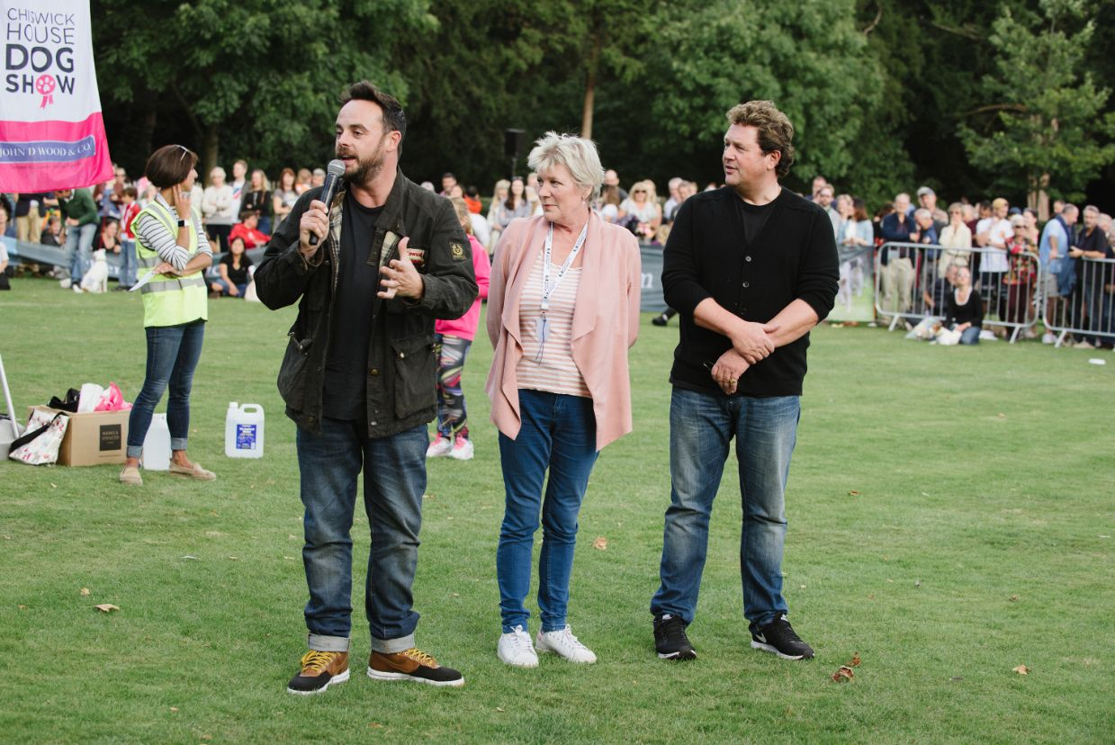 IMAGE - Ant McPartlin, Diane Weston and Michael Ball judging My Dog's got Talent