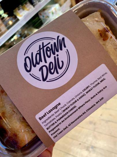 Old Town Deli - Beef lasagne_web