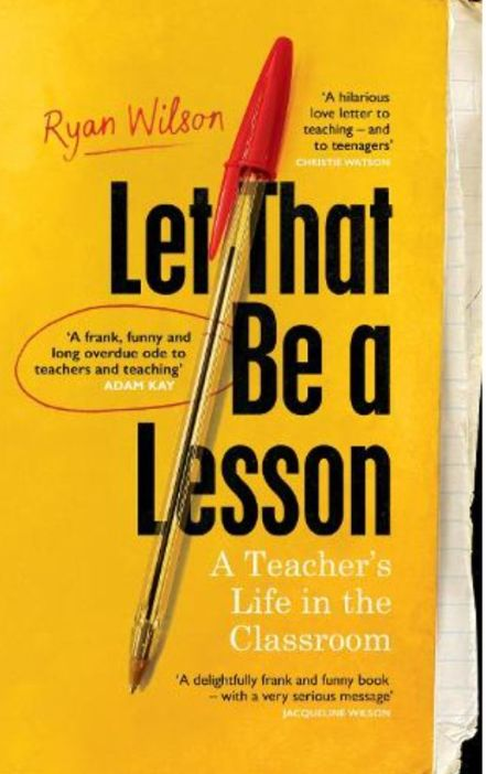 Local Authors - Ryan Wilson - Let that be a lesson_web