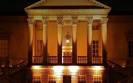 Chiswick House at Night