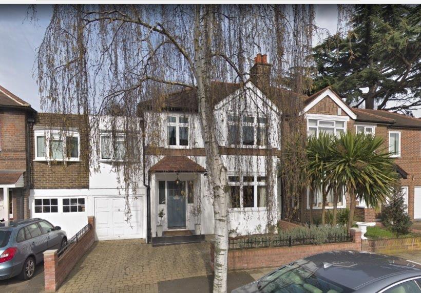 Iris Murdoch's house Eastbourne Rd