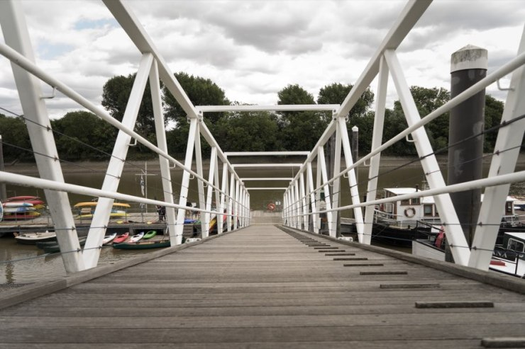 Chiswick Pier Trust Party on the Pier 201534