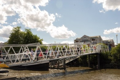 Chiswick Pier Trust Party on the Pier 201567