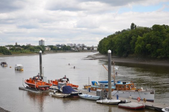 Chiswick Pier Trust Party on the Pier 201613