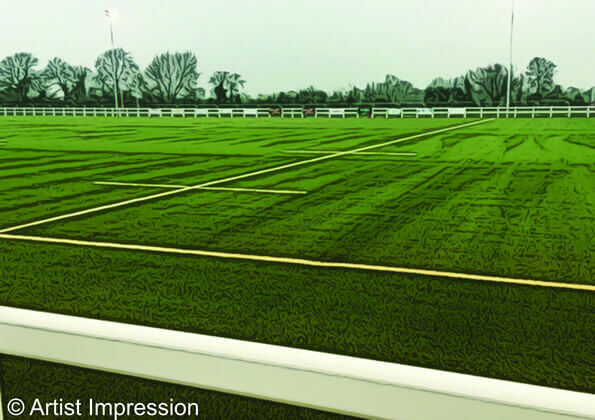 Chiswick rugby club development - New Pitch
