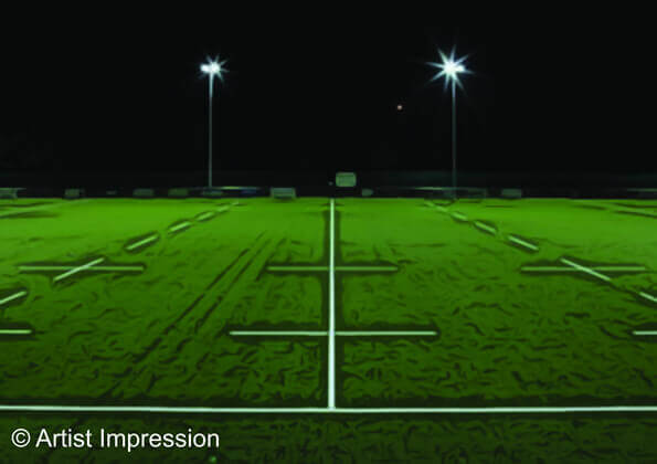 Chiswick development Rugby pitch