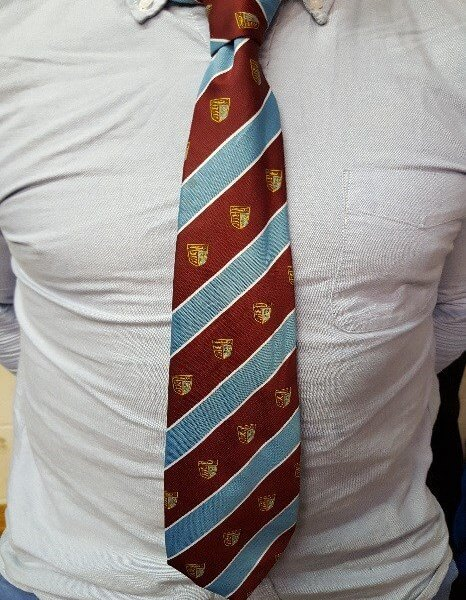 Chiswick Rugby Club London Supporters Club tie