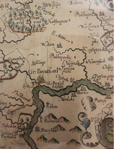 Chiswick Timeline 1593 John Norden 1