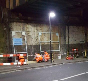 Chiswick Timeline installation Begins 5