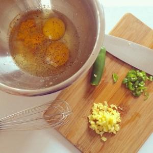 Golden Eggs: Turmeric for Breakfast