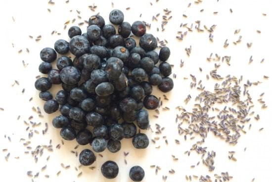 Lavender Rose Blueberry Jam #chitchaatchai