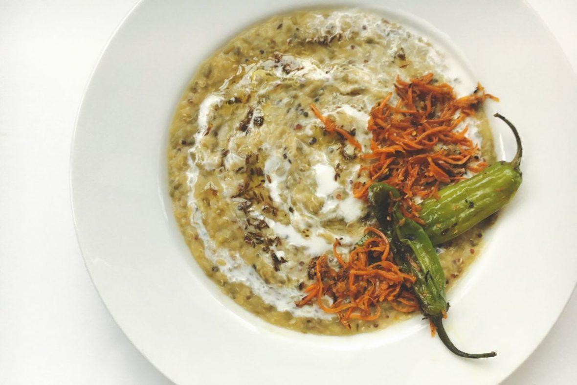 Creamy-Quinoa-Khichadi-Cumin-Ghee