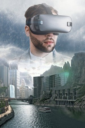 VR 仮想現実 ビデオゲーム