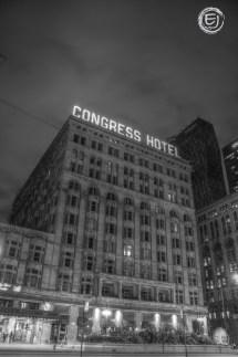 Day 299 Congress Plaza Hotel Showcasing Chicago