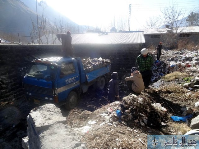 TMA Chitral cleanliness campaign