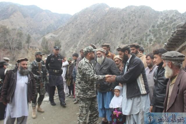 Comdt Chitral scouts visit Ursoon 6