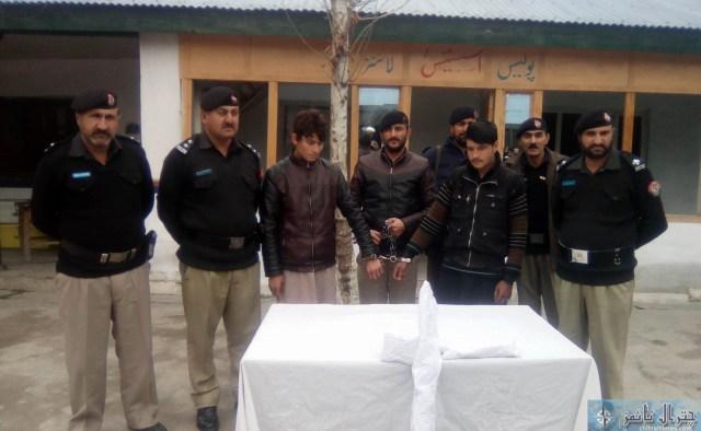 chitral police karwai thift cougt 1