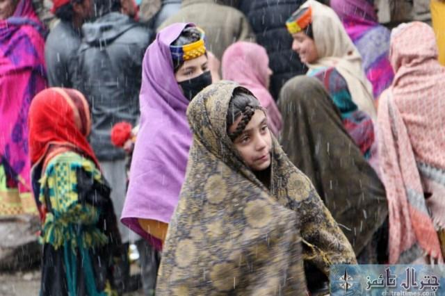kalash weather snow fall chitral 2