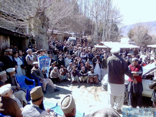 Broze Chitral protest 6