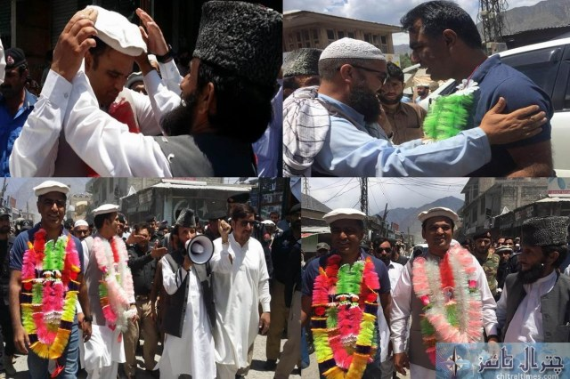 DC and dpo chitral farewell drosh