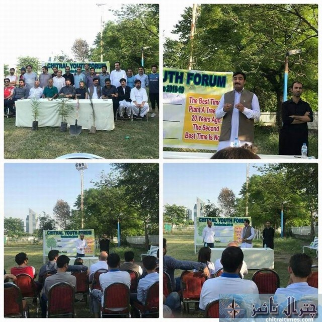 chitrali youth in islamabad plantation 1