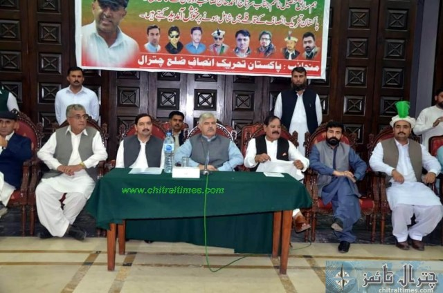 sartaj ahmad khan and other joined pti chitral 9