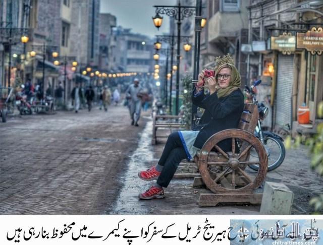 tourists visits peshawar historical places Italian toruists 6