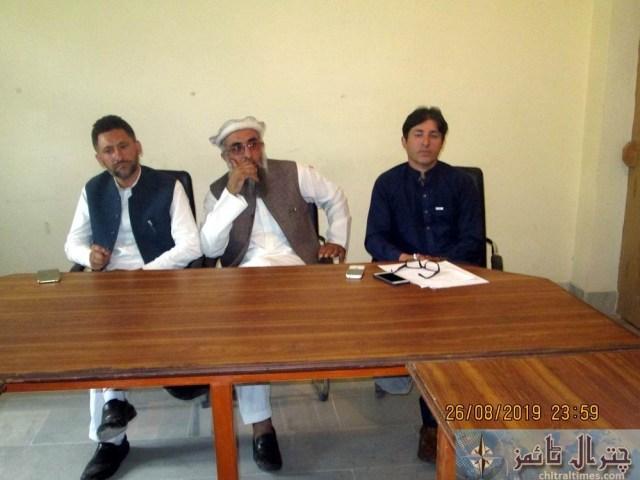 Tehsil council Mastuj last meeting 8