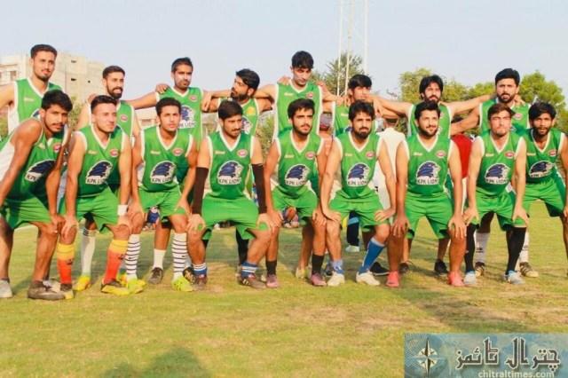 Chitrali footballer of KP lines 2