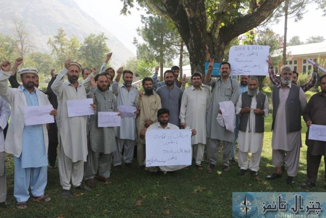 chitral doctors protest against privatization of hospitals 4