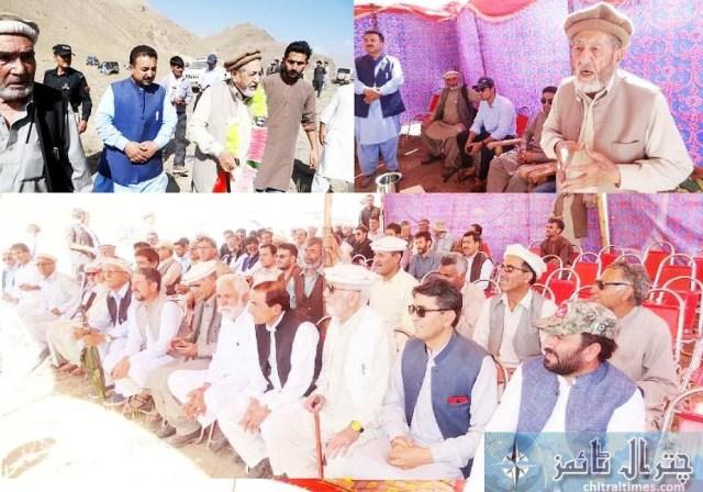 pri karam ali shah chitral visit 1