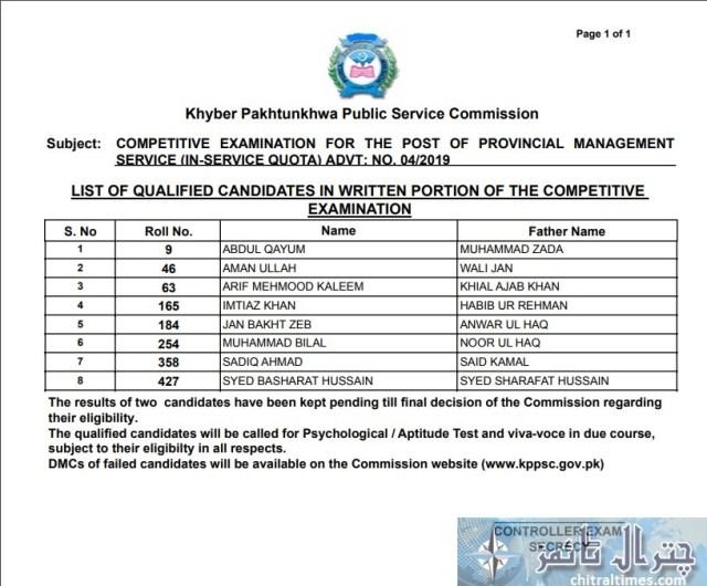 pms result kppsc