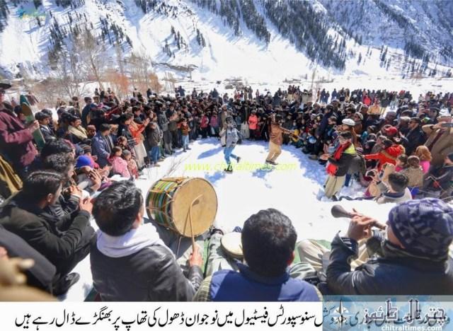 madaklasht snow festival chitral 3