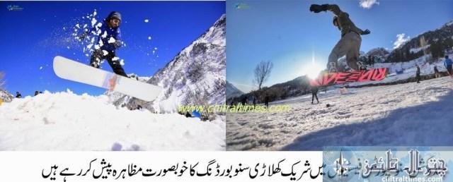 madaklasht snow festival chitral 9