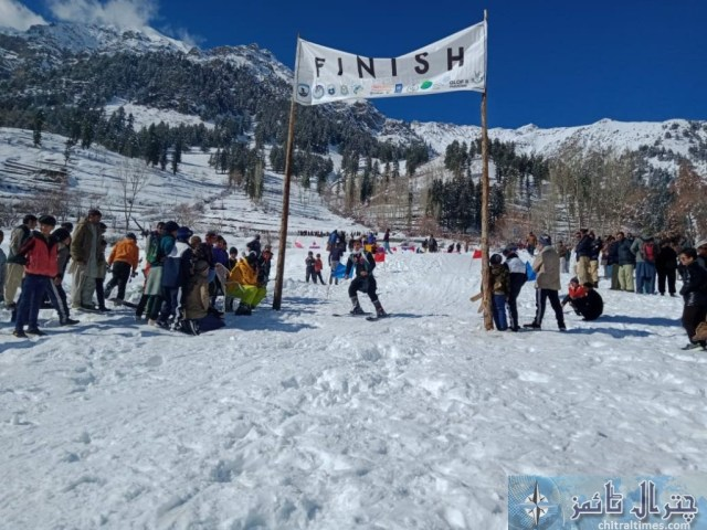 madaklasht snow festival chitral scaled