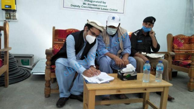 acted chitral HRF handed over to district administration chitral lower 1