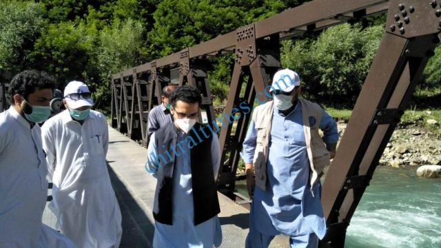 acted chitral HRF handed over to district administration chitral lower9