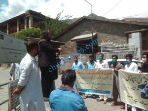 chitral prostest against dialosis machine 1 scaled