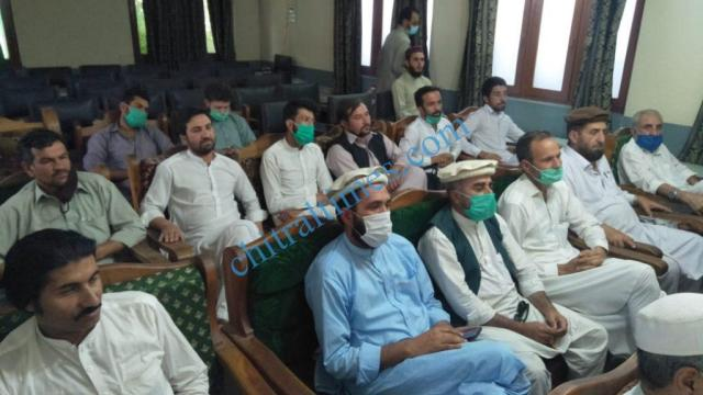 private schools association press confrence chitral 3