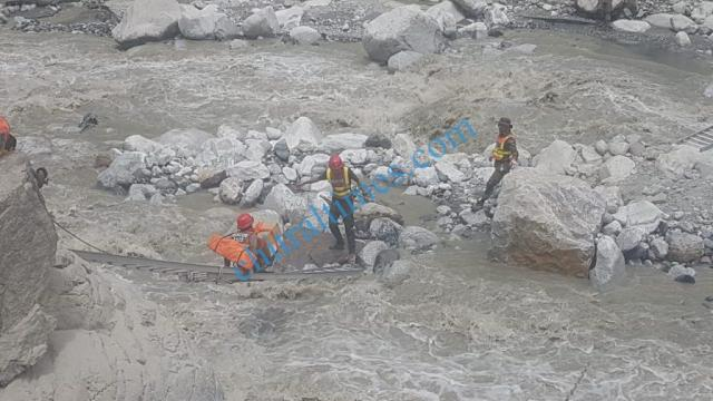 rescue 1122 operation in golain valley after flood1 1