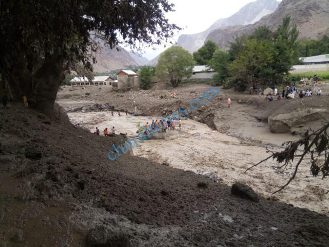 Reshun flood damages 2020 1